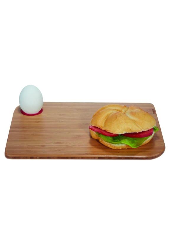 Frühstück Utensilien Brettchen